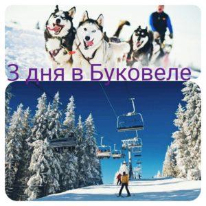 Туры в Буковель на 3 дня из Киева